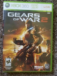 Gears of War 2 Xbox 360 game case Belle Plaine, 56011