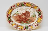 Barker Brothers turkey plater no chips or blemishes  Flowery Branch, 30542