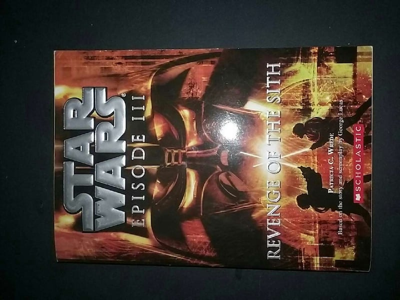 Used Star Wars Episode 3 Revenge Of The Sith Book For Sale In Lake Forest Letgo