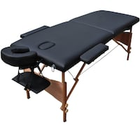 "NEW 84"" Black Portable Massage Table W/Free Carry Case Centreville"