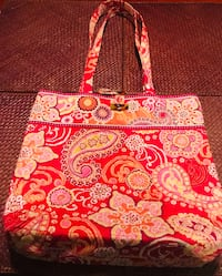 Beautiful and bright large Vera Bradley tote Silver Spring, 20904
