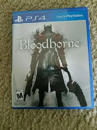 Bloodborne video game for ps4 Falls Church