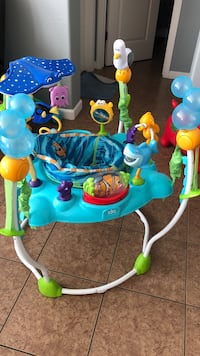 Baby's blue and green jumperoo Salinas, 93905