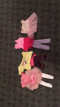 American girl doll ballet/dance outfits Wyoming, 45215