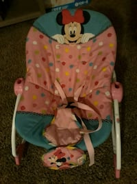 Baby Minnie Mouse bouncer great condition 1694 mi