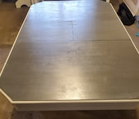 Beautiful Antique Table with Built in Leaf Ajax