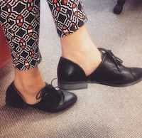 Worn Twice Cut Out Brogues Coburg