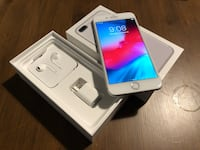 Silver iPhone 7 Plus with box and case Toronto, M3B 1X8