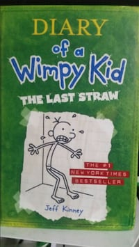 Diary of a wimpy kid the last straw book hard cove