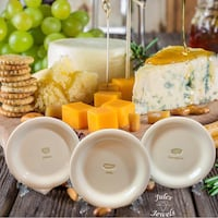 Williams Sonoma Cheese Series Plates Hor d'oeuvres Canape Bread Appetizer Set of 6 Plates Greenville, 29611