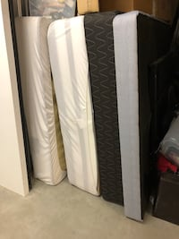 2 queen mattress with box spring  Pickering, L1W 3K1