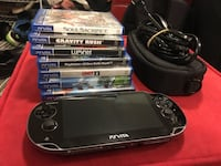 Ps vita with accessories Langley, V2Y 0J4