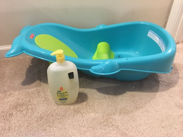 Used Fisher Price Whale Infant Tub For Sale In Langhorne Letgo