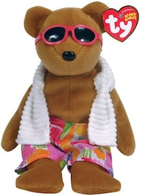 Ty Beanie baby Miami boy in swim trunks Fort Washington, 20744