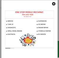 Mobile mechanic service and more we come to you
