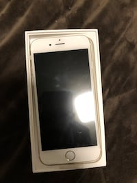 NEW gold iPhone 6 with box 64gb