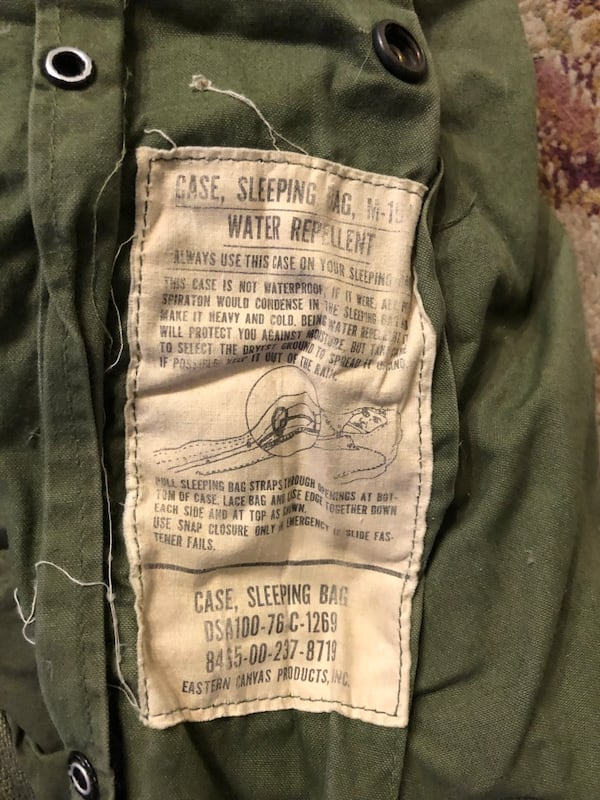 Vintage Army Sleeping Bag 3