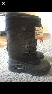 pair of black Harley-Davidson leather boots Whitchurch-Stouffville, L4A 1G5