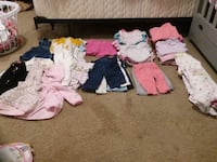 Baby girl clothes size 0-3 & 3 month Strasburg, 22657