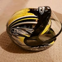 black and yellow full face helmet Guelph, N1L 1T6