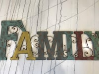 """Family"" Wall Hanging"