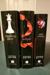 Twilight books (New Moon, Eclipse, Breaking Dawn) Middletown, 21769