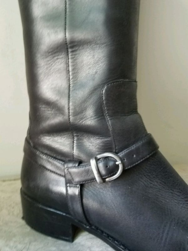 Via Spiga  Zip Boots 8.5m with one inch heel.  383438ec-33ad-4b2e-ae04-f636ffe23d16