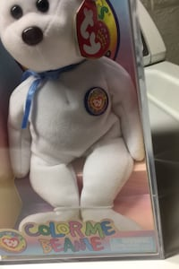 Color me beanie baby