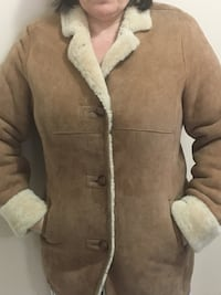 DANIER LEATHER Sheepskin Jacket in mint condition!