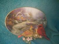 Thomas Kinkade Cardinal plaque home is your Haven Norfolk, 23505
