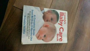 Baby care book in great condition