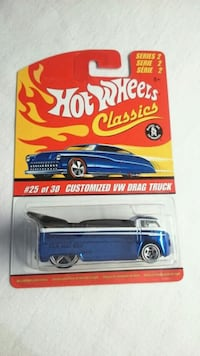 HOT WHEELS CUSTOMIZED VW DRAG TRUCK SERIES 2  Ontario, L4L 1V3