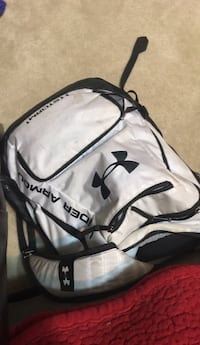 white and black Under Armour backpack Gaithersburg, 20878