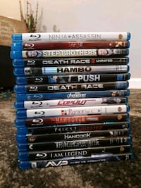 16 Blu ray movies - all for $75 Wappingers Falls, 12590
