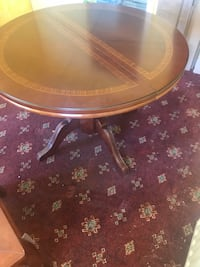 brown wooden framed glass top table London, N9 0HL