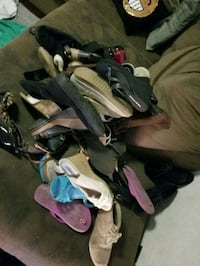 assorted pairs of shoes and sandals Turlock