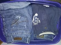 Tote of jeans assorted Ames, 50010
