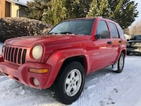 Super low kms Jeep Liberty 3136 km
