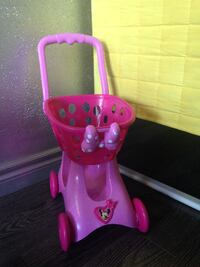 Minnie mouse shoping cart