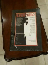 Scarface matted poster Carmel Hamlet, 10512