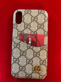 gray and red Gucci monogram leather wallet Rockville, 20852