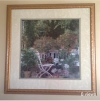 brown wooden framed painting of trees Montréal, H1E 4R1