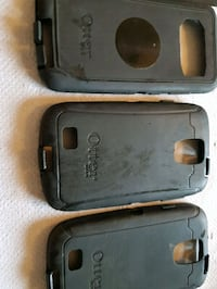 two black Otter Box iPhone cases Montréal, H1K 2P3