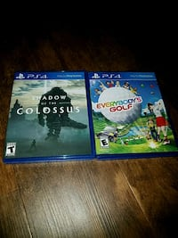2 PS4 games  Maumee, 43537