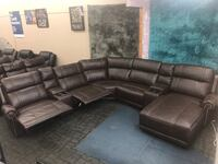 Reclining sectional with lounge Dallas, 75223