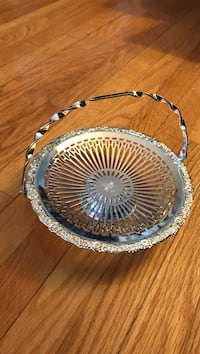 Silver plated candy dish Toronto, M9V