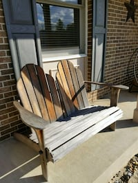 Double wood bench Gaithersburg, 20879