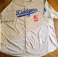 white and blue Dodgers jersey shirt Rialto, 92376