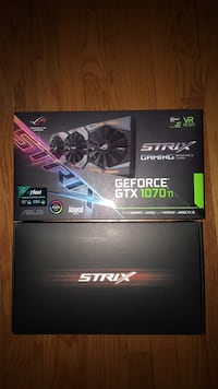 ASUS ROG Strix GeForce GTX 1070 Ti 8GB GDDR5 Advanced Edition VR Ready DP HDMI DVI Gaming Graphics Card (ROG-STRIX-GTX1070TI-A8G-GAMING) Arlington, 22205