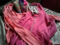 pink zip-up jacket Grande Prairie